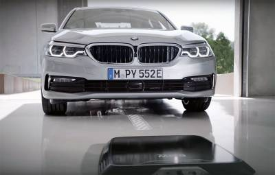 BMW 530e iPerformance - incarcare wireless