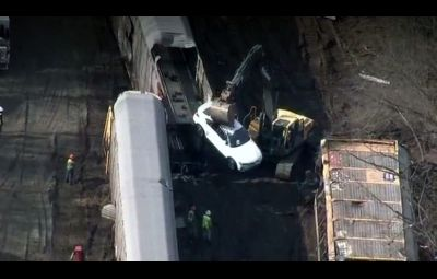 BMW - accident feroviar SUA