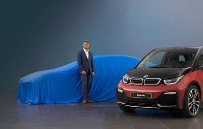 BMW - sedan electric concept, Frankfurt 2017