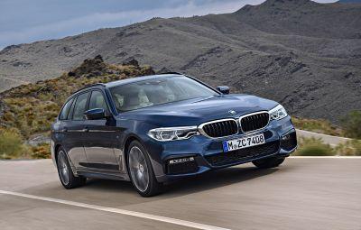 Noul BMW Seria 5 Touring - Video