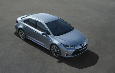 Noua Toyota Corolla Sedan 2019