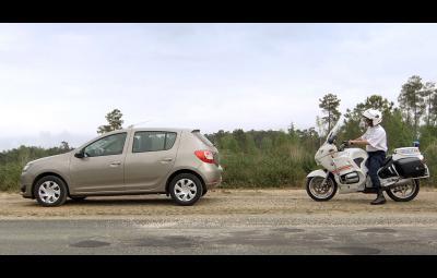 Dacia Sandero - reclama Franta