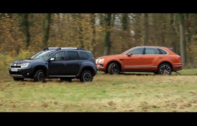 Dacia Duster vs. Bentley Bentayga