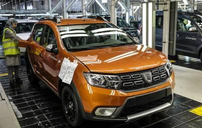 Renault Tangier - 1.000.000 masini Dacia