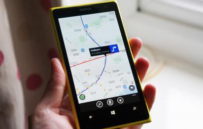 HERE Maps de la Nokia