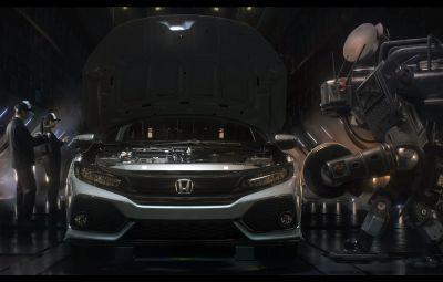 Honda Civic 2017 - campanie video