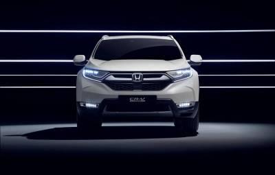 Honda CR-V Hybrid Prototype