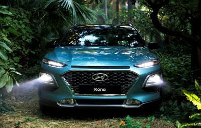 Hyundai Kona 100% electric