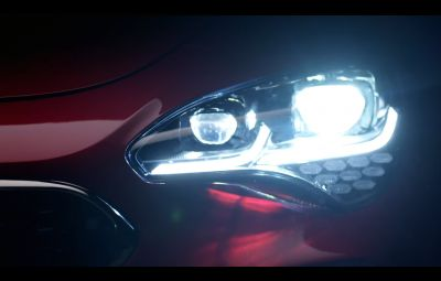 Kia Stinger - teaser video