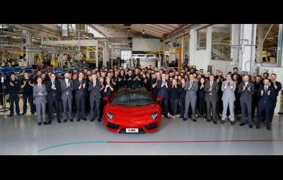 Lamborghini Aventador - 5.000 de exemplare fabricate