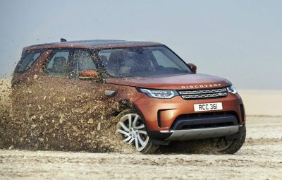 Land Rover Discovery - fabrica Slovacia