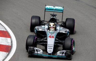Lewis Hamilton - castigator Canada 2016