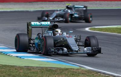 Lewis Hamilton - castigator Hockenheim 2016