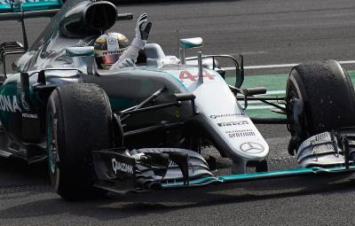 Lewis Hamilton - castigator Mexic 2016