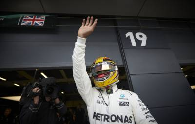 Lewis Hamilton - castigator Silverstone 2017