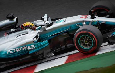 Lewis Hamilton - castigator Suzuka 2017