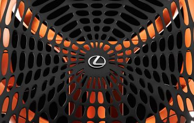 Lexus Kinetic Seat Concept