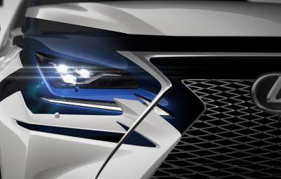 Lexus NX facelift