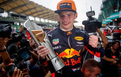 Max Verstappen - castigator Sepang 2017