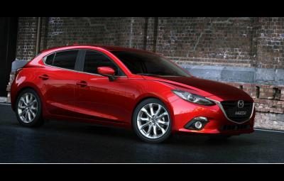 Noua Mazda 3 2014