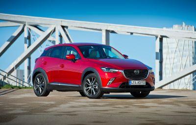 Mazda CX-3 - bestseller Romania 2016
