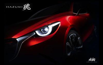 Conceptul Mazda HAZUMI