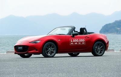 Mazda MX-5 - 1.000.000 de exemplare