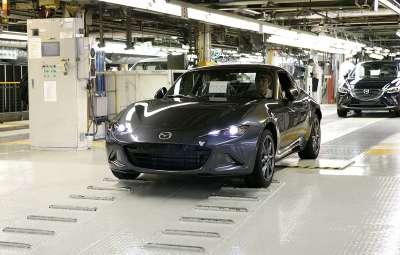 Mazda MX-5 RF - startul productiei