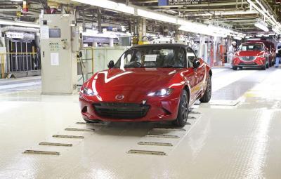 Noua Mazda MX-5 - start productie 2015