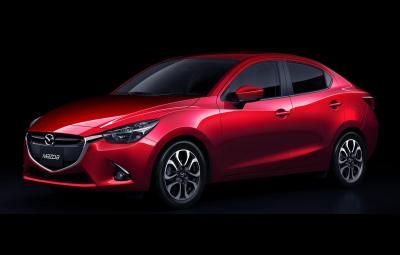 Noua Mazda2 Sedan