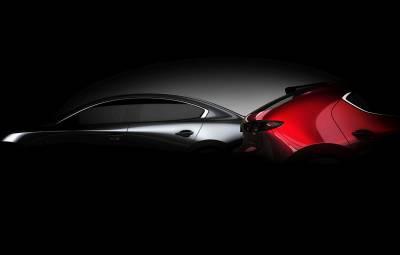 Mazda3 2019 - teaser
