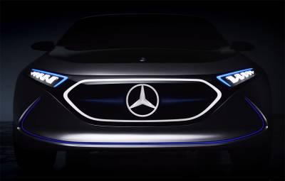 Mercedes-Benz Concept EQC - teaser video