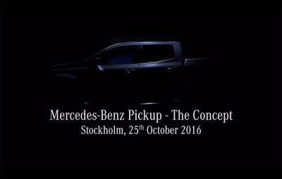 Mercedes-Benz GLT - teaser video