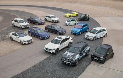 Mercedes-Benz si smart - viitoarea gama de modele verzi