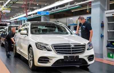 Mercedes-Benz S-Class facelift - Sindelfingen
