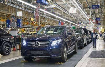 Mercedes-Benz - fabrica Tuscaloosa