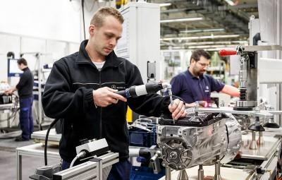 Mercedes-Benz - fabrica Untertuerkheim