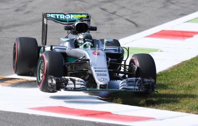 Nico Rosberg - castigator Monza 2016