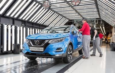 Nissan Qashqai facelift - fabrica Sunderland