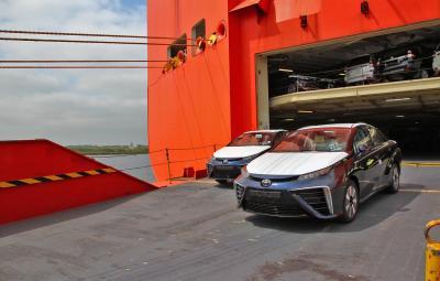 Noua Toyota Mirai - Europa