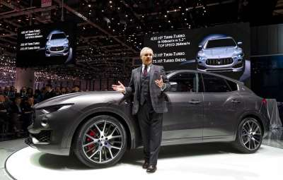 Noul Maserati Levante 2017