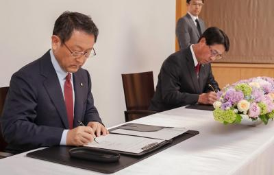 Parteneriat Toyota - Mazda 2015
