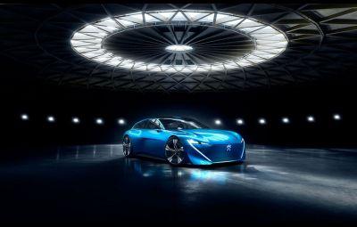 Conceptul Peugeot Instinct
