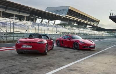 Porsche 718 Boxster și Cayman GTS