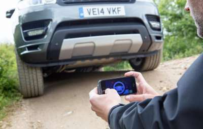Range Rover Sport - control la distanta al masinii