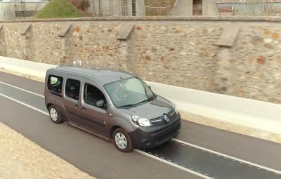 Renault Kangoo ZE - incarcare wireless
