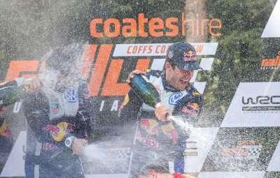 Sebastien Ogier - campion mondial 2015