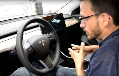 Tesla Model 3 - video detalii
