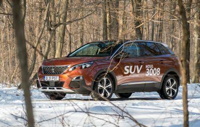 Peugeot 3008 - versiune plug-in hybrid