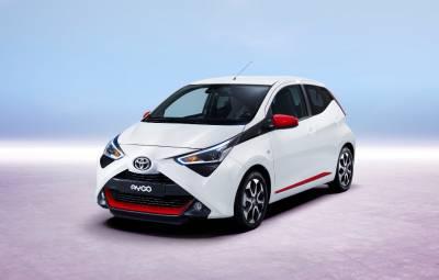 Toyota AYGO facelift 2018
